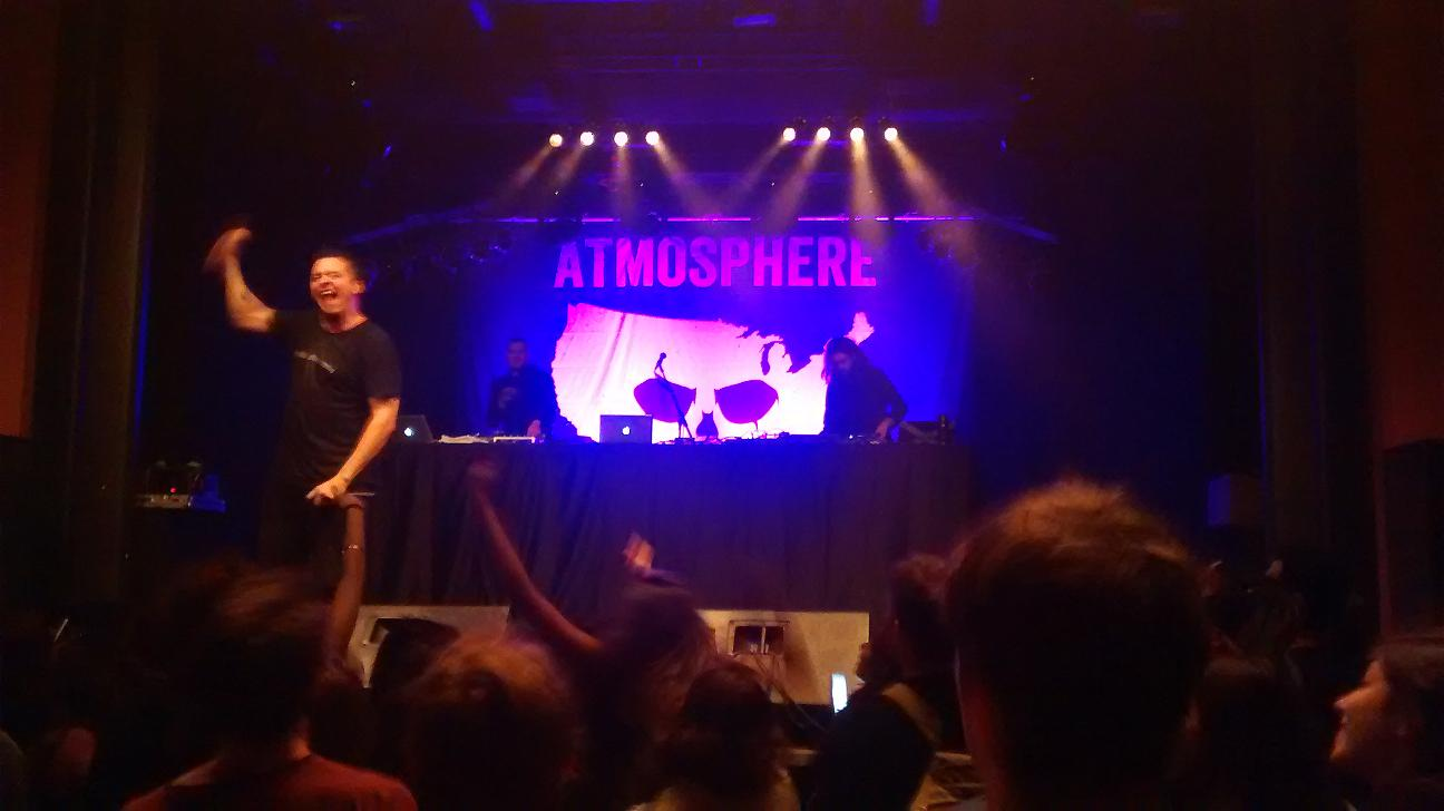 Atmosphere in Berlin Columbia Theater